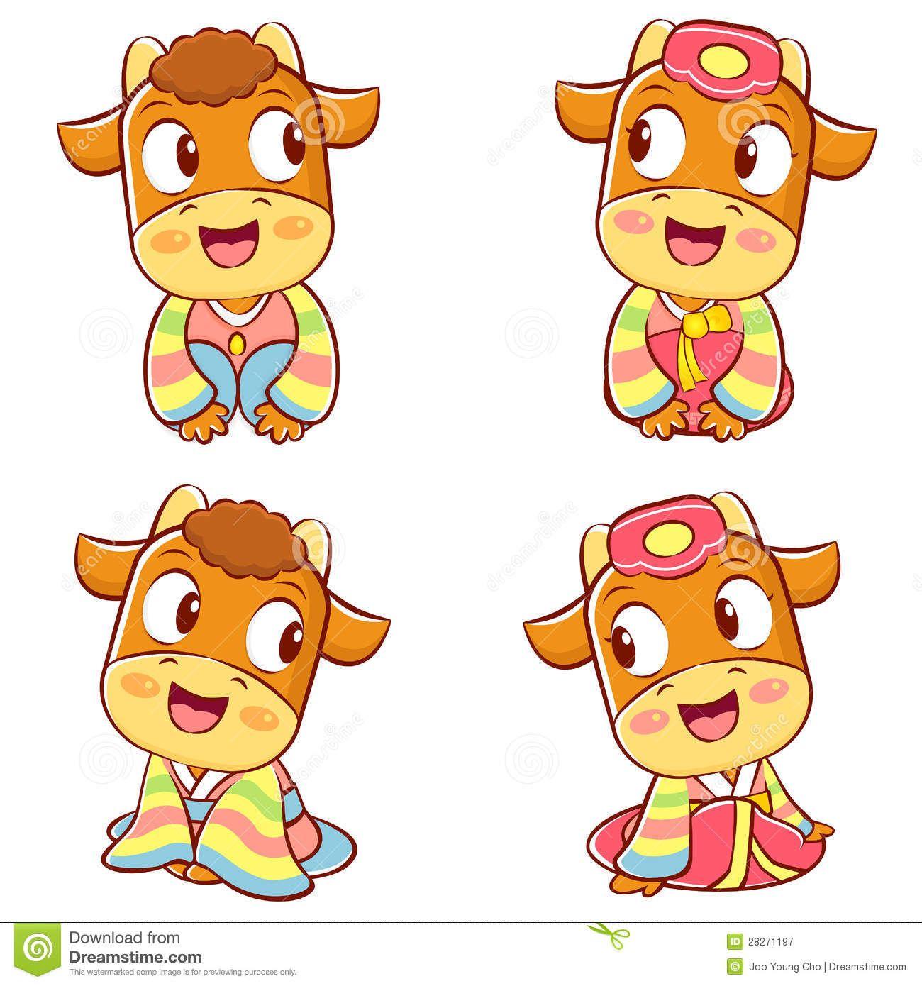 korean-traditional-bulls-event-activities-new-year-character-de-28271197.jpg (1300×1390)