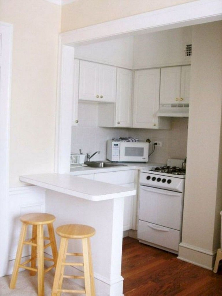 50 Amazing Small Apartment Kitchen Design And Decor Ideas Small Apartment Kitchen Studio Apartment Kitchen Small Kitchen Design Apartment