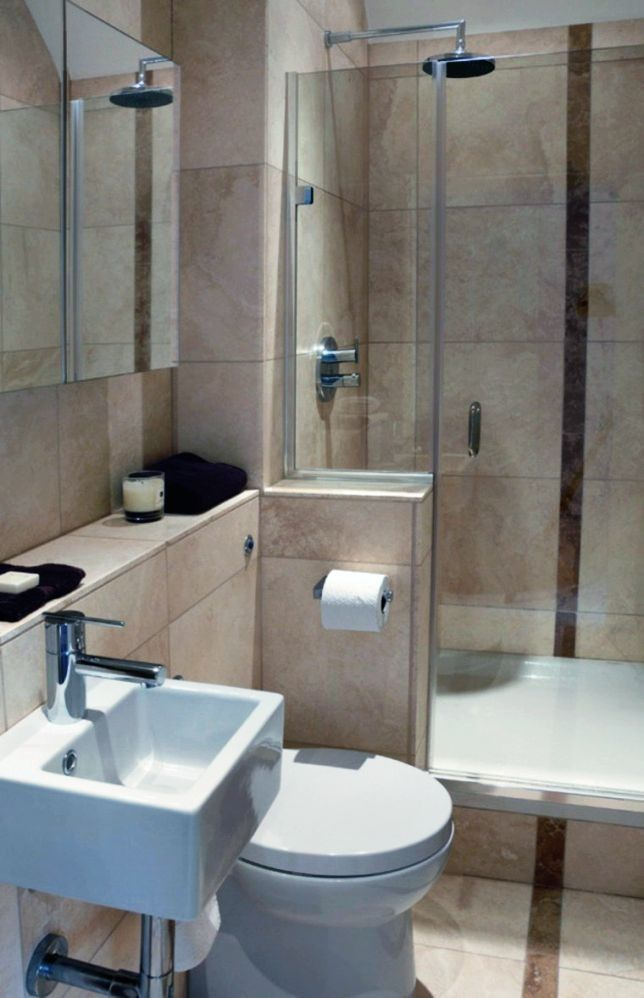 Elegante banos modernos pequenos azulejos o banos pequenos for Diseno de banos pequenos modernos 2016