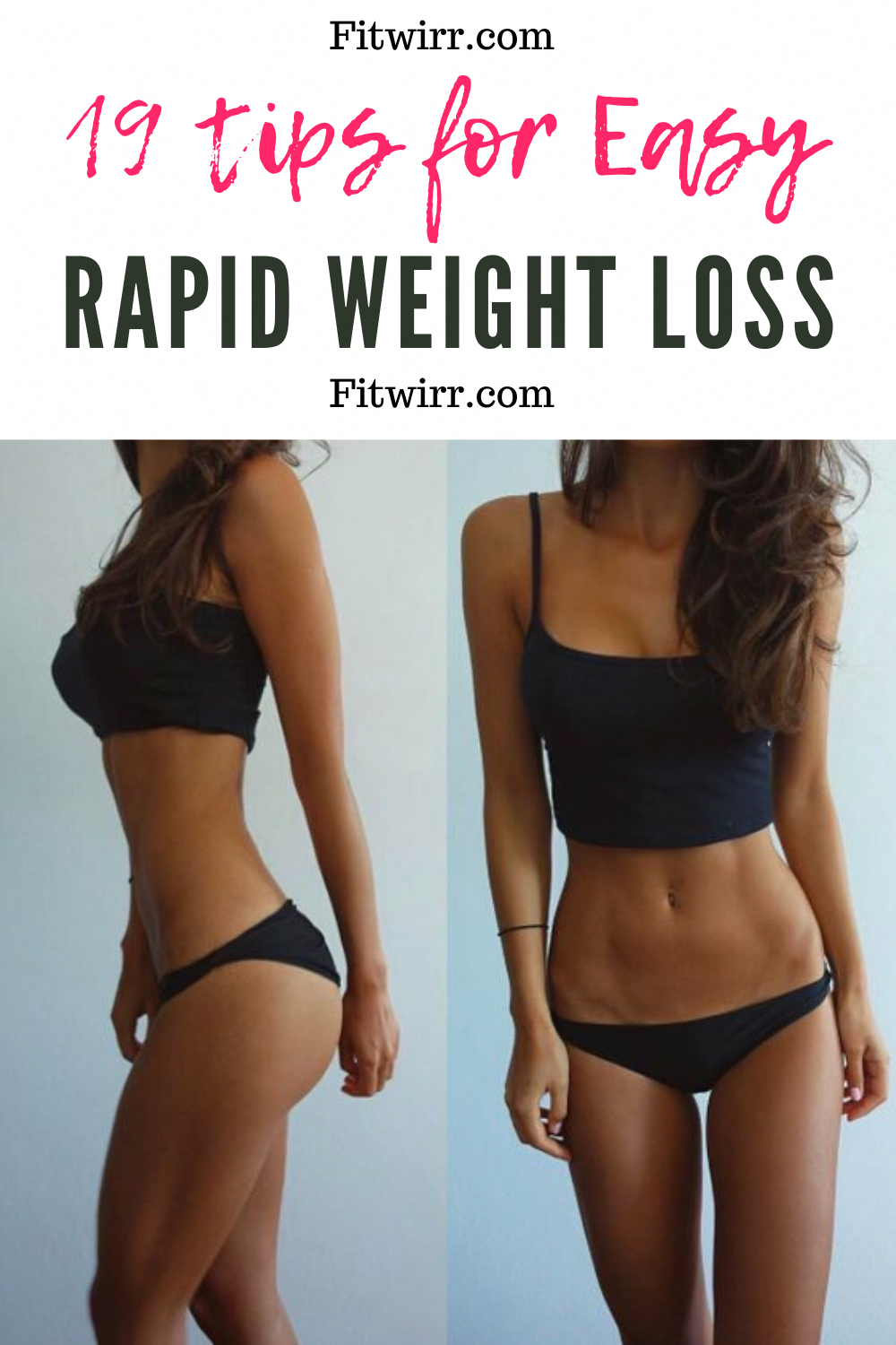 19 tips to lose 10 lbs in a month. This fast weight loss guide is perfect for anyone looking for rapid weight loss.  #rapidweightloss #lose10pounds #loseweightfast #fastweightloss #weightlosstips #3DayDetox