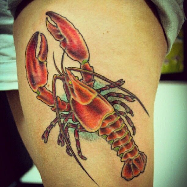 d0c916128 Lobster tattoo | Artwork | Lobster tattoo, Tattoos, Tattoo images