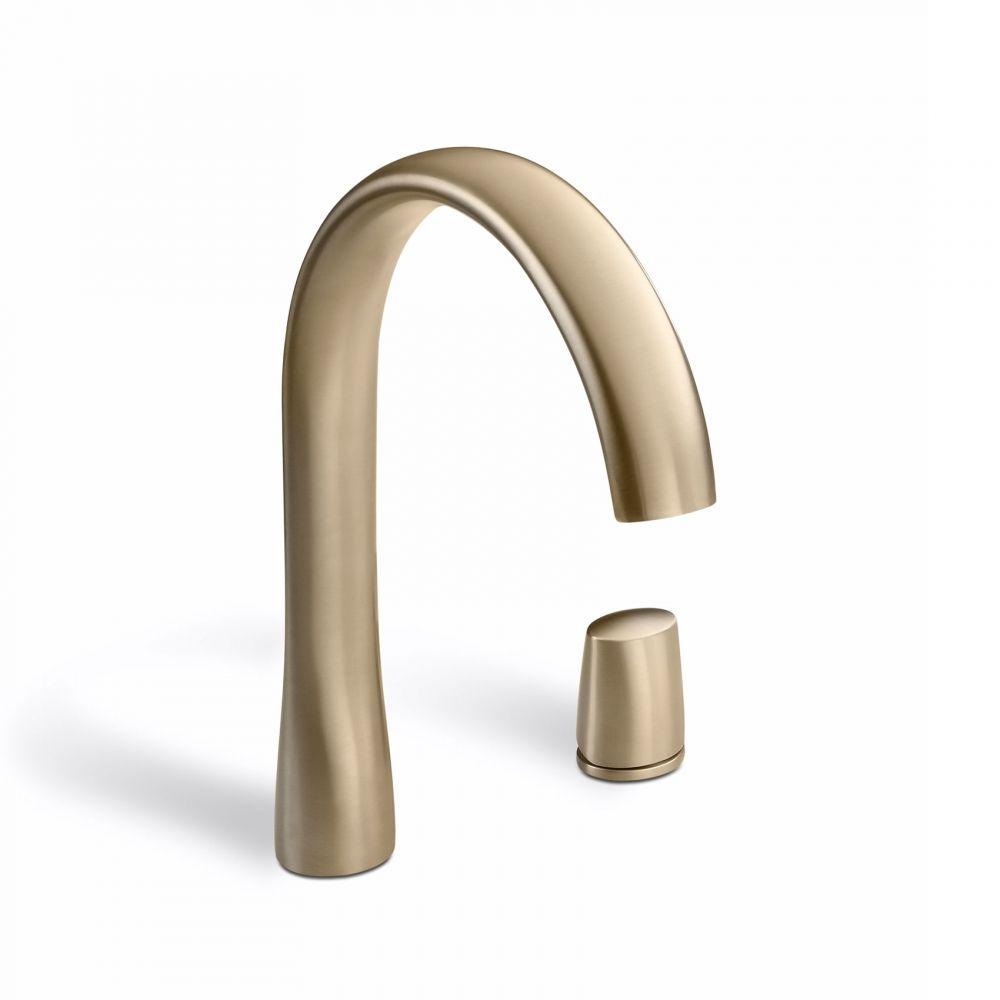 Single side lever washbasin faucet mixer « Armani / Roca | sanitary ...