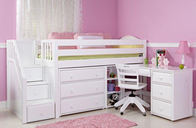 Kids loft bed Kid bed Pinterest Dormitorio, Cuartos para niños