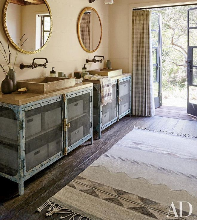 Rustic Bathroom. Rustic Bathroom Design. Rustic Bathroom Features Rustic  Wood Floor, Tan Shiplap