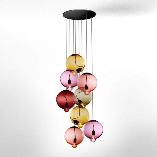 ampia scelta di colori e disegni nuovo stile di vita orologio Meltdown Lamps by Johan Lindstén for Cappellini | For the ...