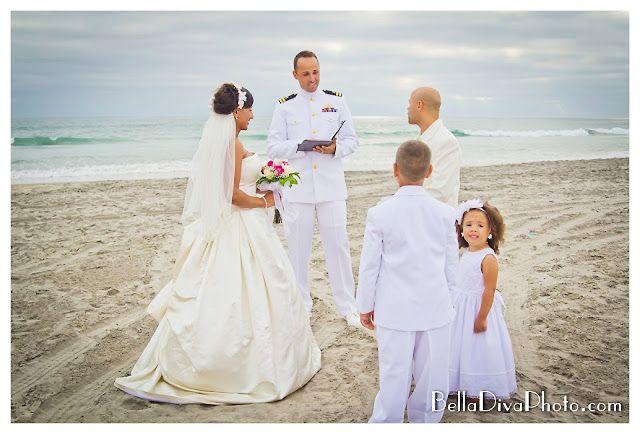 Beach Vow Renewal Ceremony: Beach Vows Renewal #wedding #military #sandiego