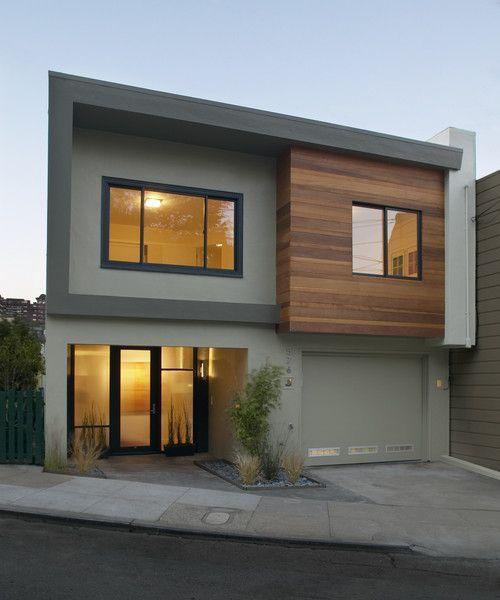 image result for modern square homes - Modern Home Exterior Siding