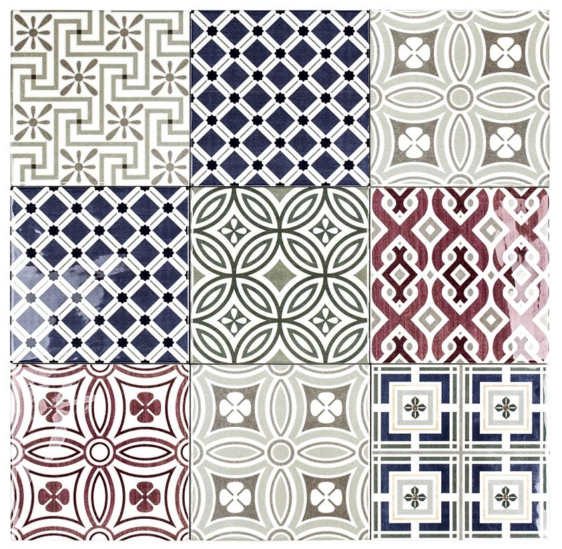 Tiles Decorative Wall Tile 5  Canal Walk  Pinterest  Wall Tiles Design Color