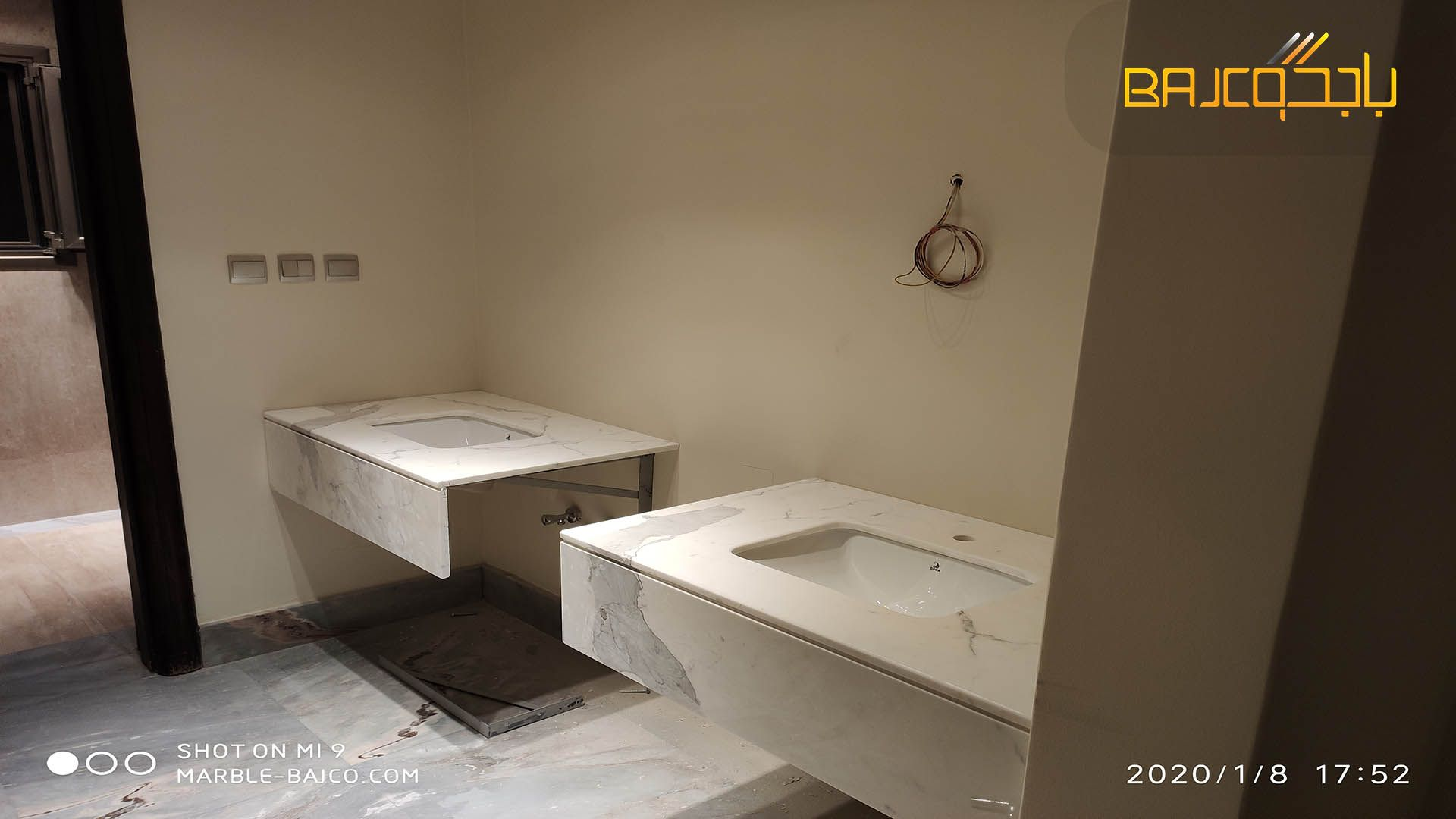 مغسلة حوضين Corner Bathtub Bathtub Bathroom