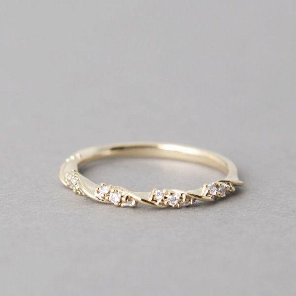 Minimalist Wedding Jewelry Delicate Engagement Ring 12 Best