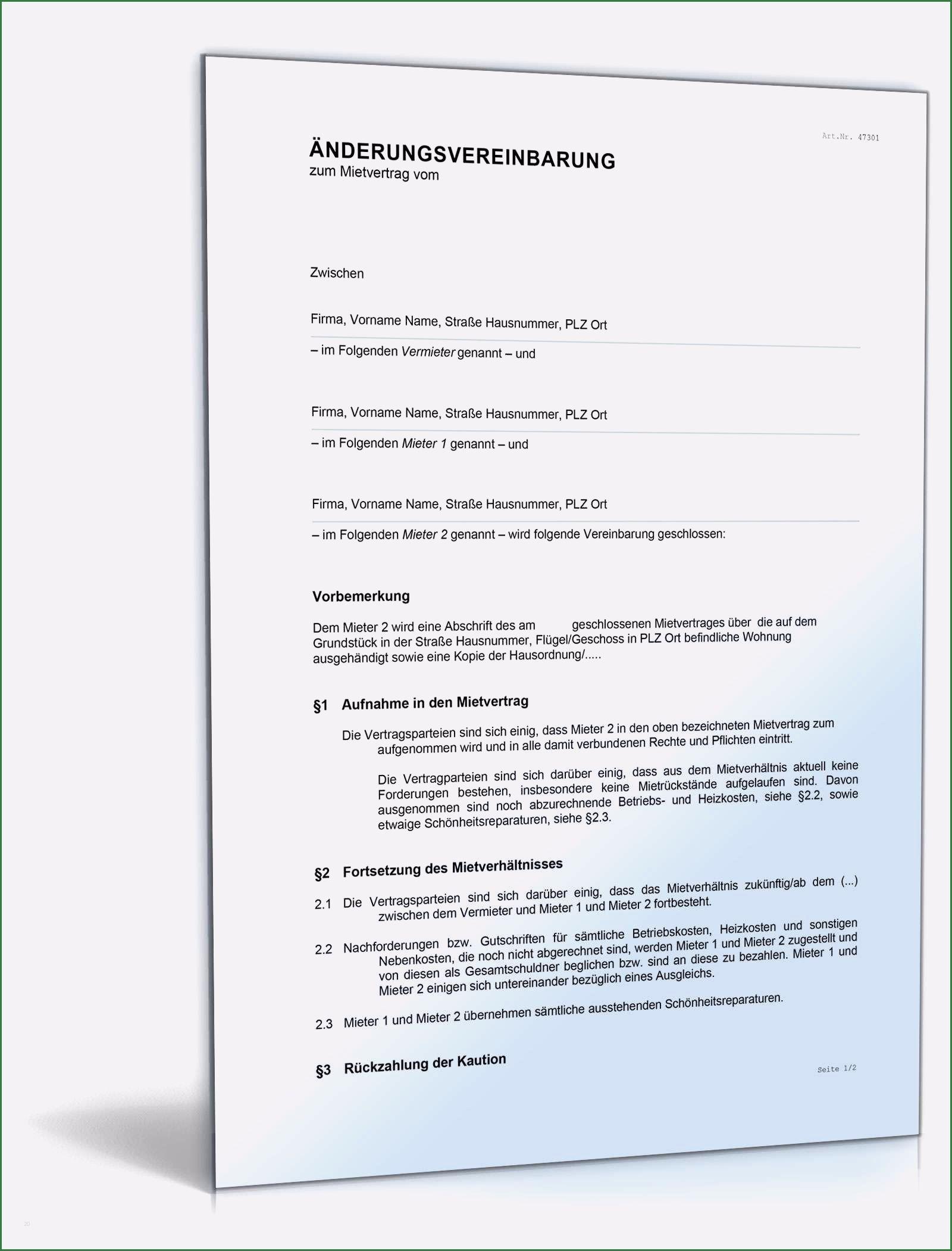 13 Ideal Anderung Mietvertrag Vorlage Die Sie Begeistern In 2020 Lebenslauf Layout Vertrag Rechnungsvorlage
