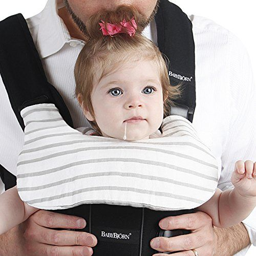 88f1701e394 Baby+Bjorn+Carrier+One+Drool+Cover+100%+Organic+Bamboo+K un+Teething ...