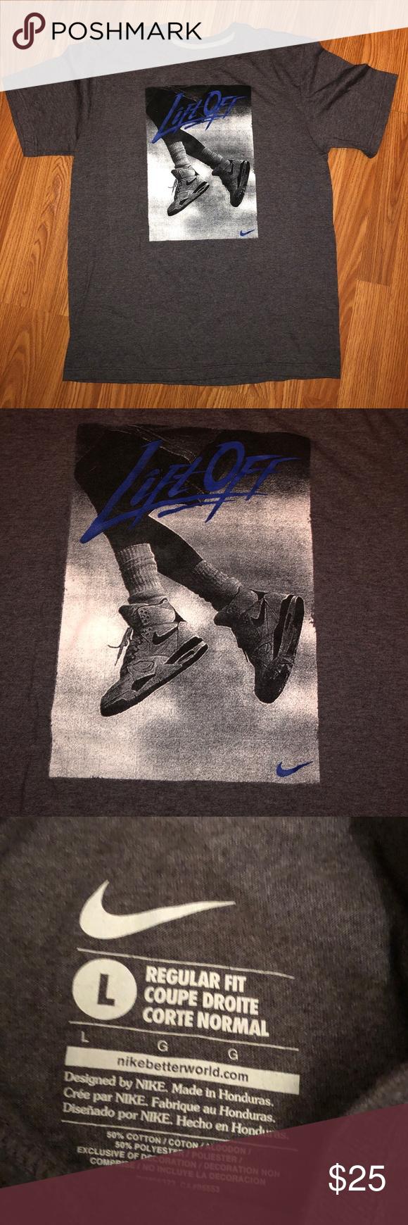 Nike} Lift Off Shirt Nwot Nike lift off