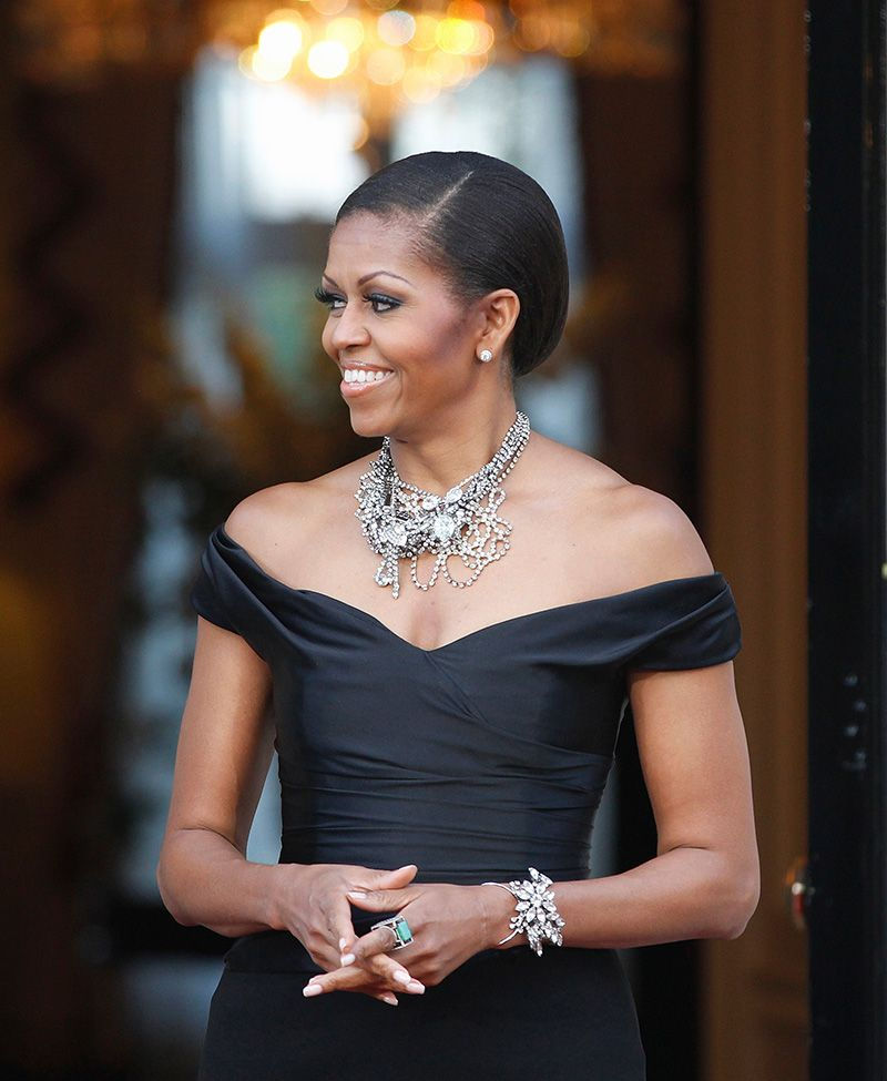 Dickson Yewn at Annoushka Jade ring, Tom binns and Michelle obama - michelle obama resume