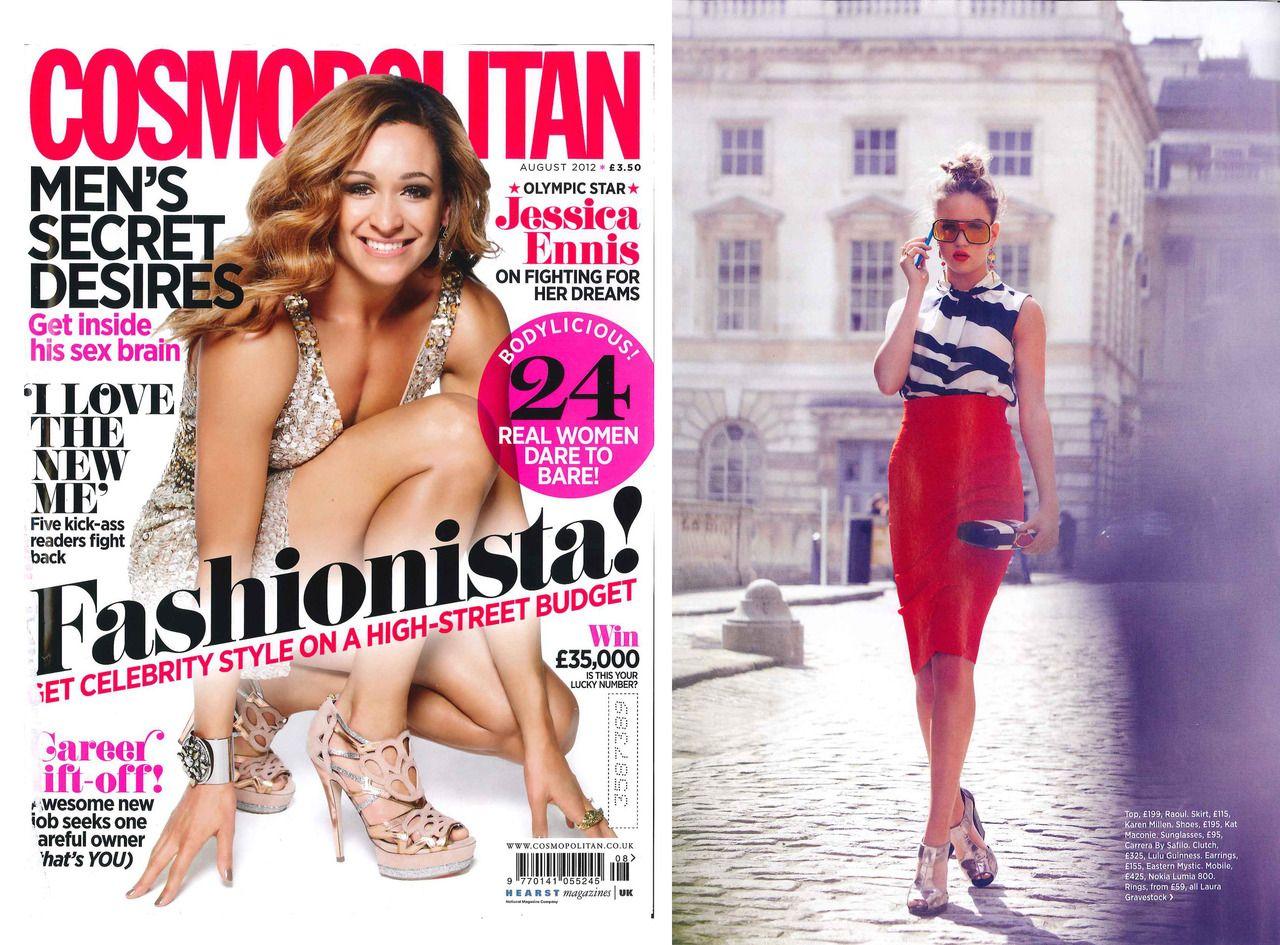 Kat Maconie, Cosmopolitan August 2012