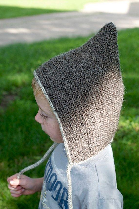 Knitting Pattern - Pixie Hat Pattern - Baby Pixie Hat - Elf Hat ...