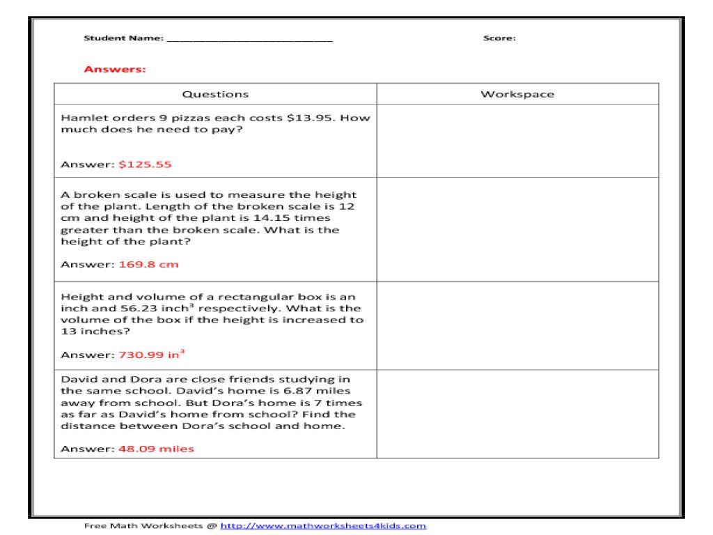 27 Worksheets Adding Decimals 2 Readersreviewchallenge