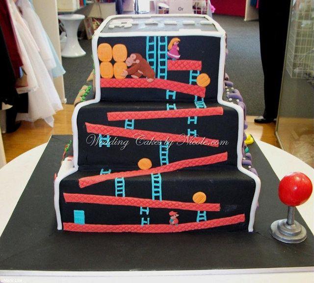 Video Game Cake 3g Cake Decorating Ideas Pinterest Cake