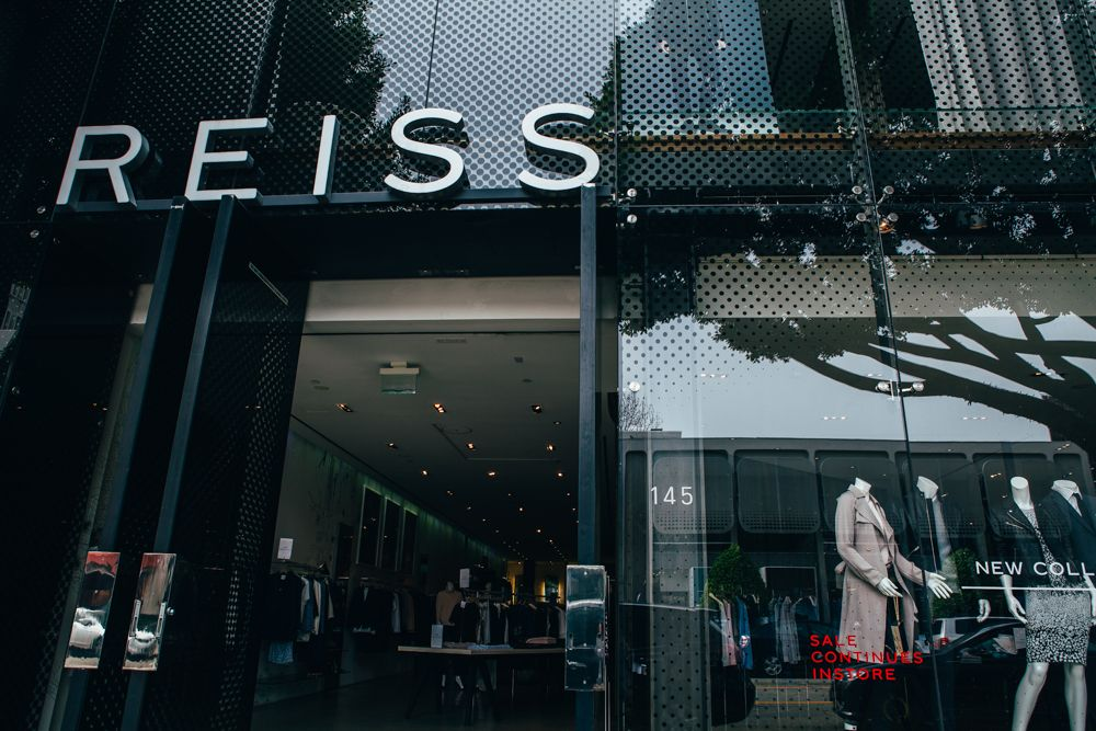 REISS fashion boutique in the WeHo design district. http://ow.ly/L0b6e