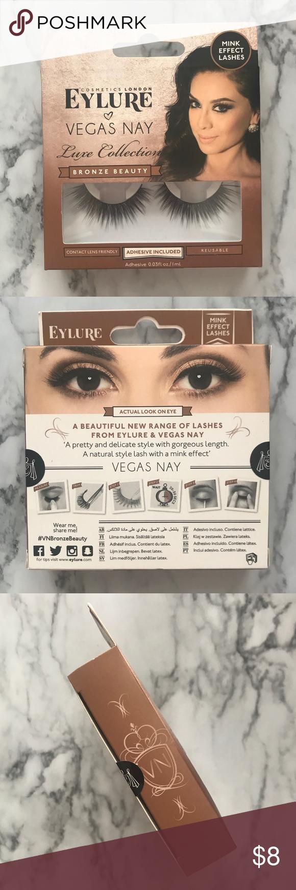 e21736cb04c NEW! Eylure Vegas Nay Luxe Bronze False Eyelashes NEW! Unopened, in ...