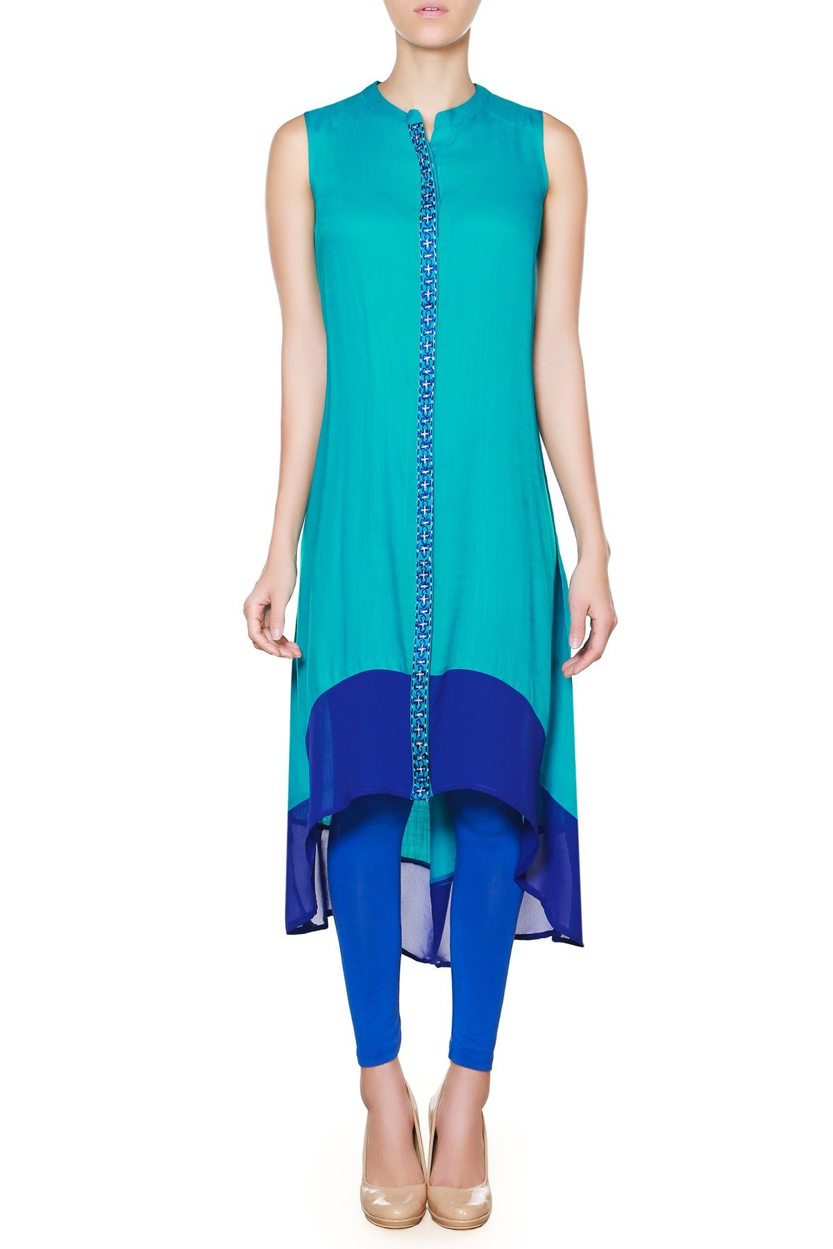 Image result for An Asymmetrical Kurta