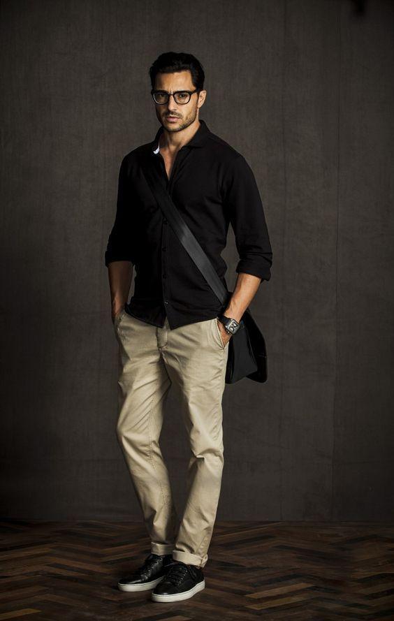 Calça Marrom Masculina, dicas para usar e inspirar | Estilo