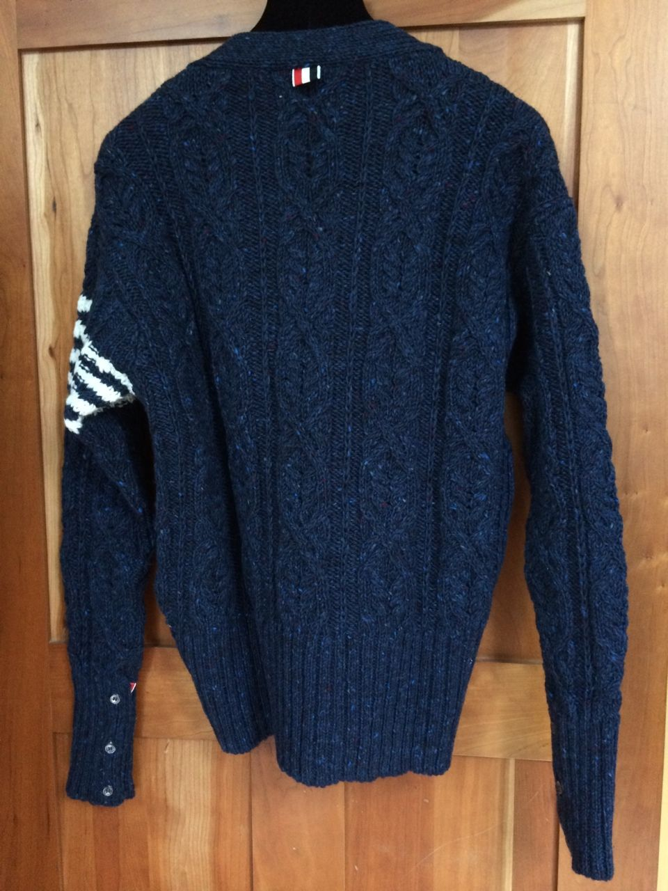 Cheap Price In China Cheap Clearance Store Thom Browne Cable Knit