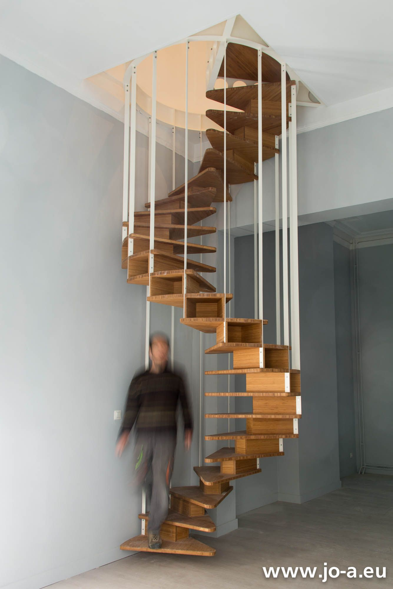 �pingl� sur olmo stairs - escalier olmo