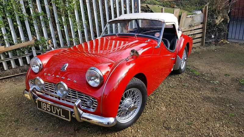 1958 Triumph Tr3 A for Sale | Classic Cars for Sale UK