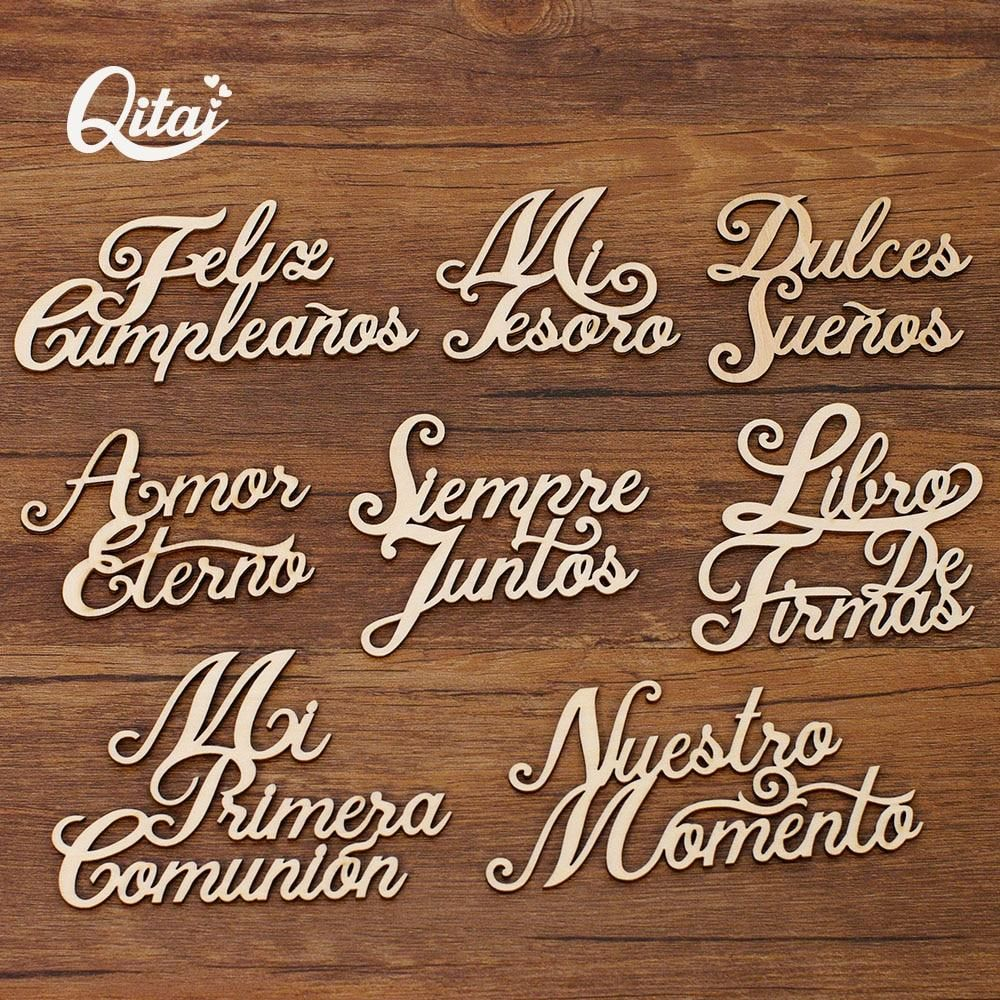 Brand Name: QITAIOrigin: CN(Origin)Is Smart Device: Nois_customized: YesTheme: LettersStyle: EuropeMaterial: WoodModel number: WF324Material: PlywoodThickness: 2mmColor: Nature wood colorProcesing: Laser cutting / engravingCustomized: YesCondition: 100% brand newQuantity: 8 pcs in one boxPackage: reusable plastic boxMeasurement: marked on pictureSupply source: producer in Mainland ChinaProvide: dropshipping