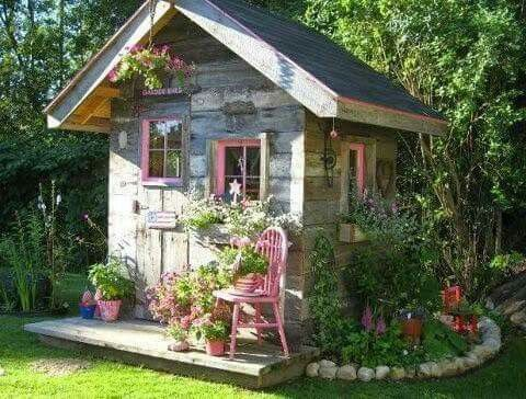 Green Houses, Tiny Houses, Garden Sheds, Gardens, Studio, Clever, Le Jolie,  Bungalows, Cabins
