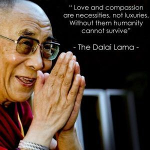 dalai lama quotes on love and compassion