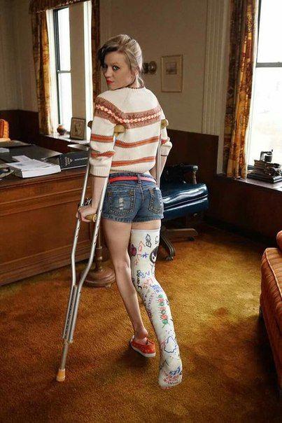 Sina Gipsbeins Photos  Casts  Long Leg Cast, It Cast -2897