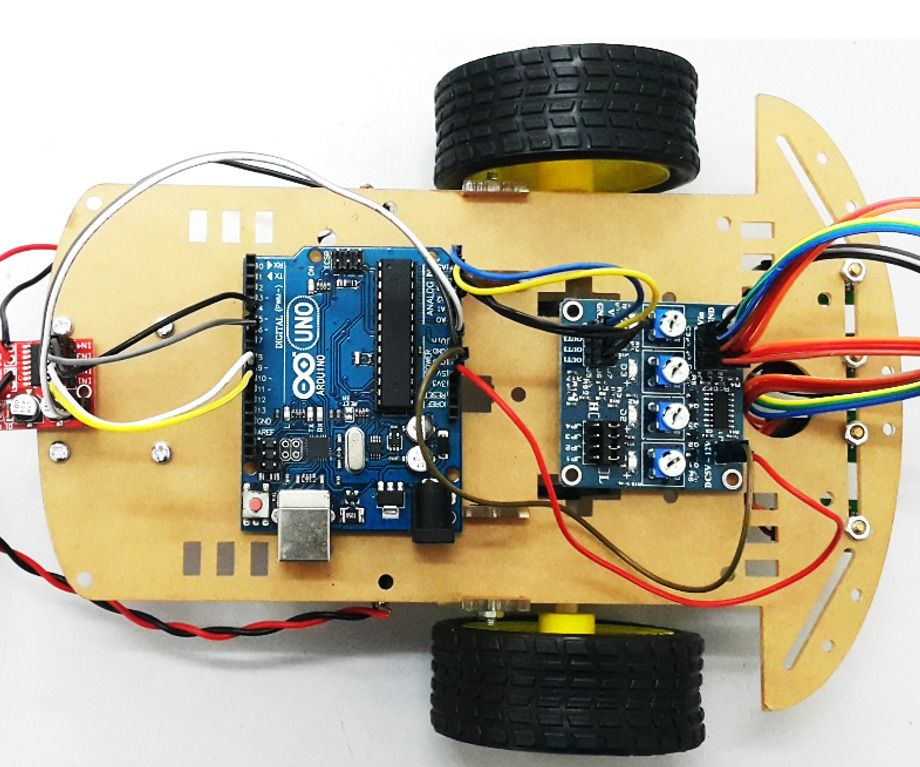 How to Make Line Follower Robot Electronics projects for