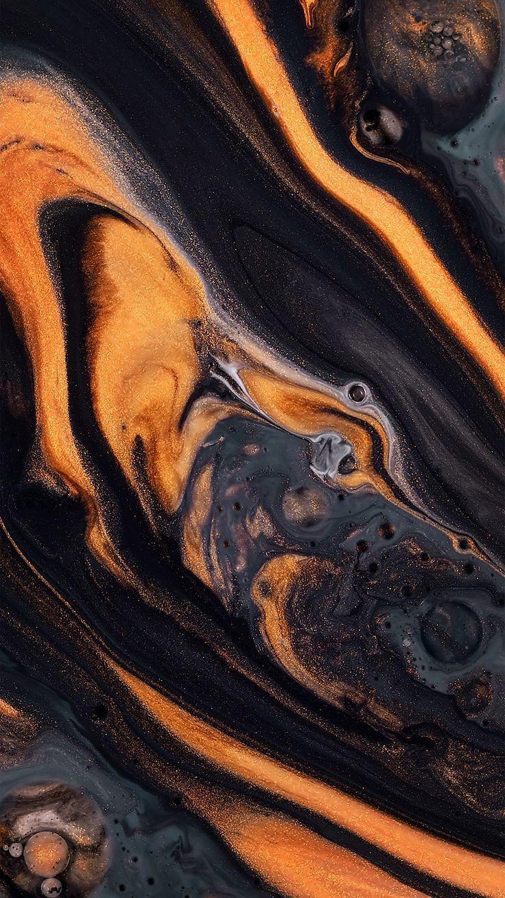 Halloween colors, orange and black   Marble wallpaper ...