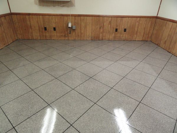 Epoxy Chip Garage Flooring Cincinnati Ohio Floors Pinterest