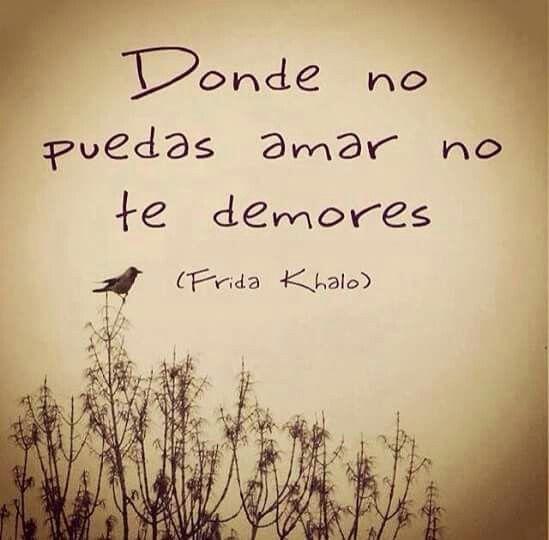 #Frida  No te detengas