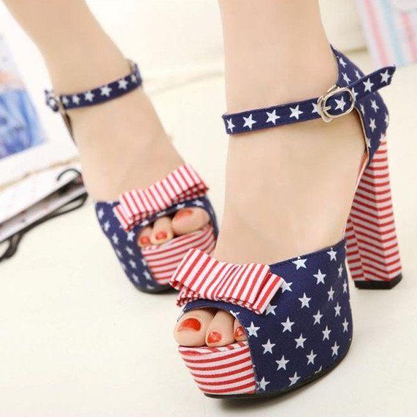 dcff439860d Patriotic Shoes for Women