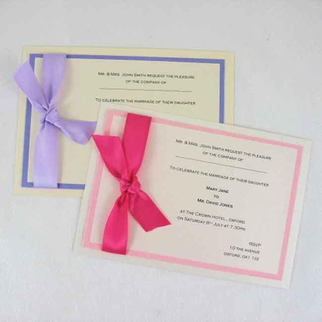 print at home wedding invitation ideas  simple wedding