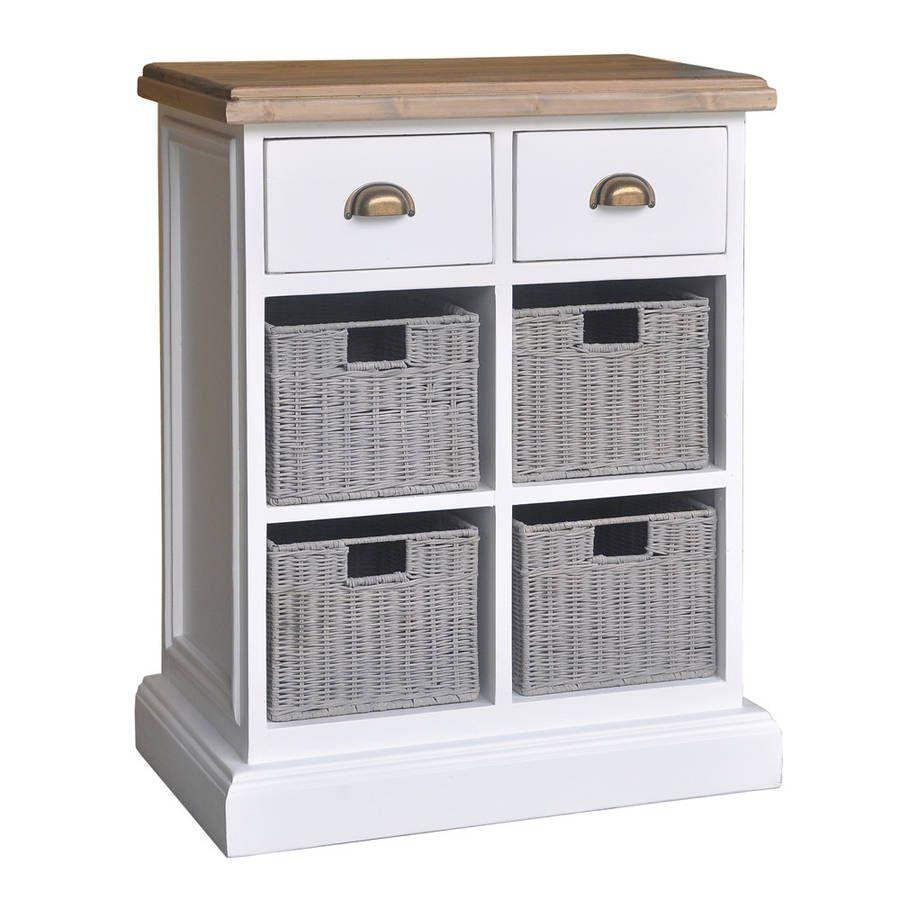 Modern hallway storage ideas  French Country Quad Basket Storage Chest  Home Decor  Pinterest