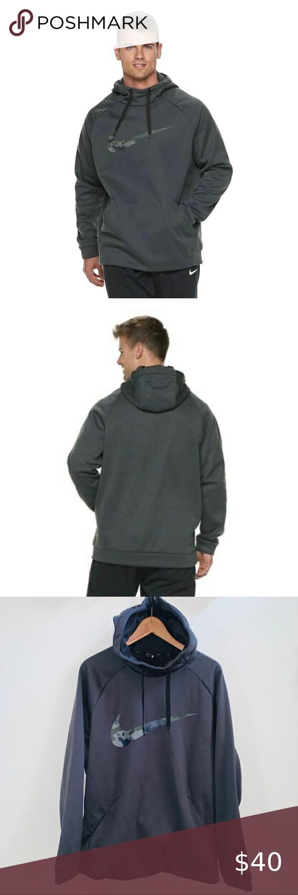 Nike Camo Men S Therma Pullover Hoodie Xl Pullover Hoodie Hoodies Sweatshirt Shirt [ 1740 x 580 Pixel ]