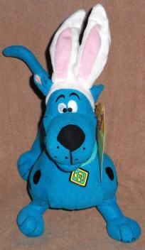0fc380a4878 SCOOBY-DOO STUFFED PLUSH TOY BLUE WITH EARS