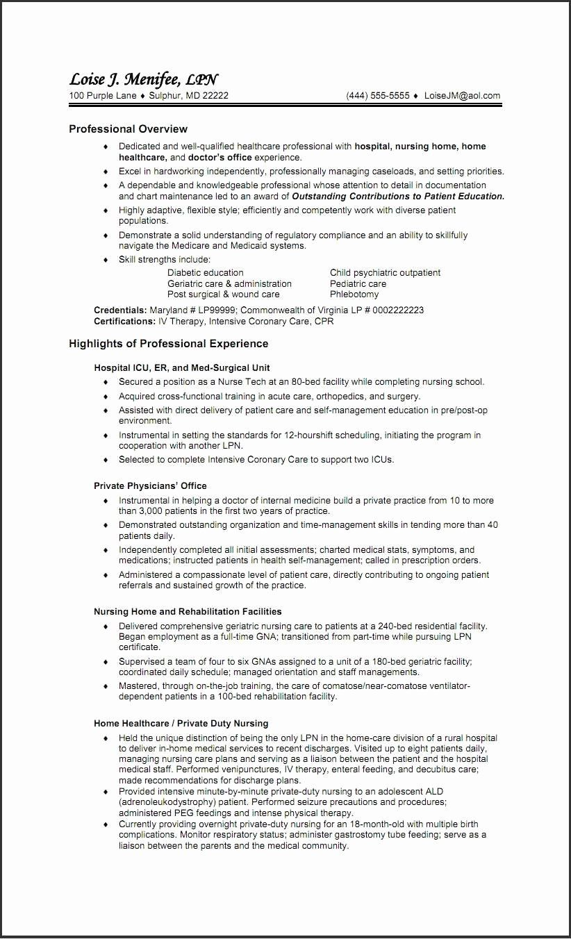 40 new graduate nurse resume examples in 2020 with images