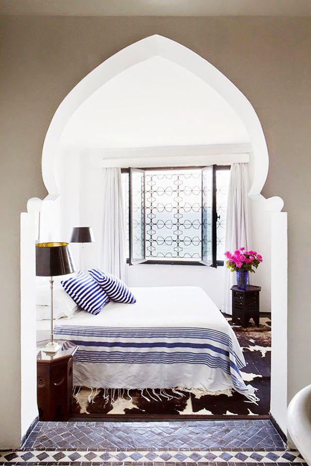 Elephant Blanc   Chambres, La maison et Maroc