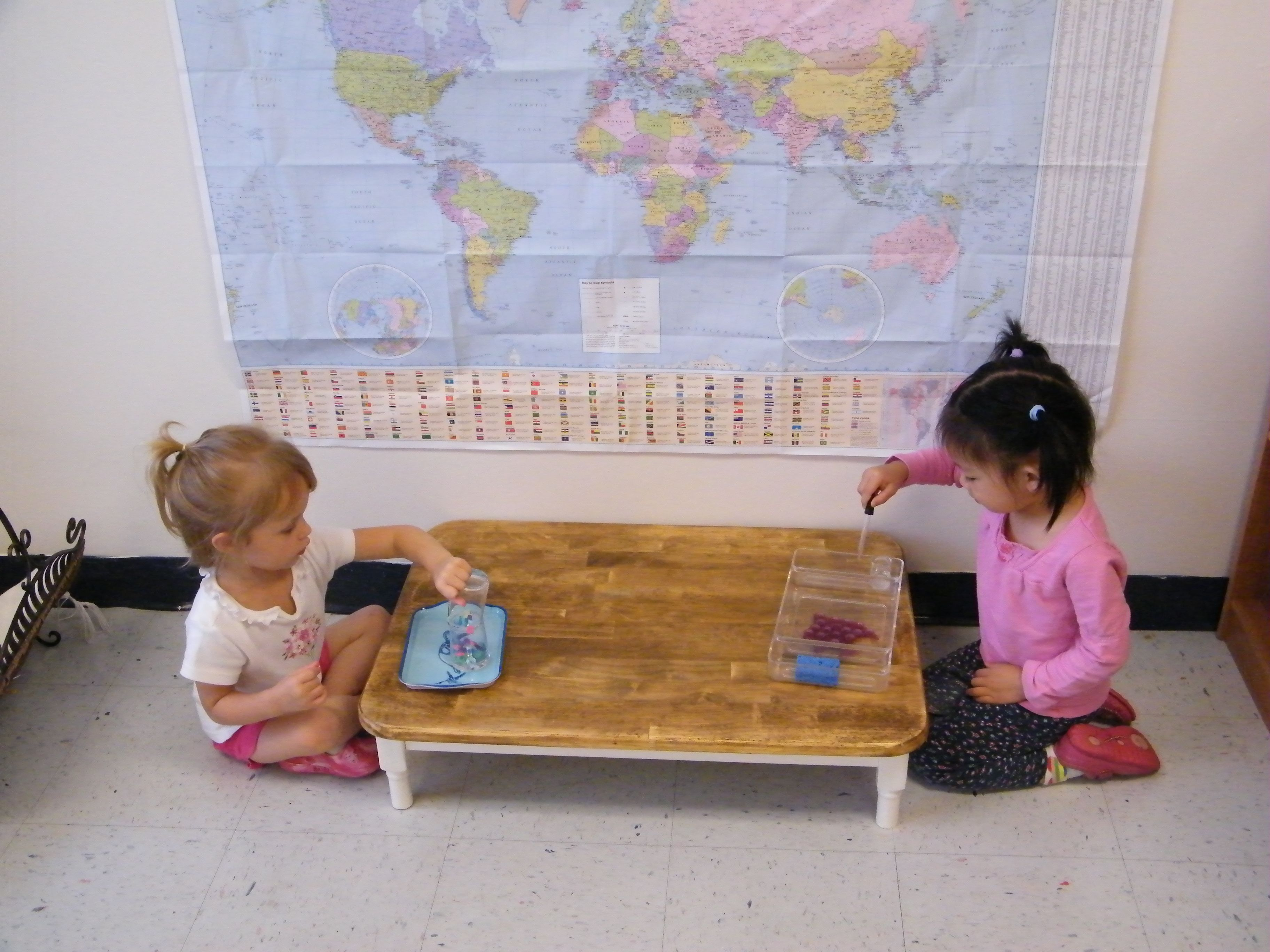 Awesome Look At This Little Table! Kids Can Sit Right On The Floor. I Think