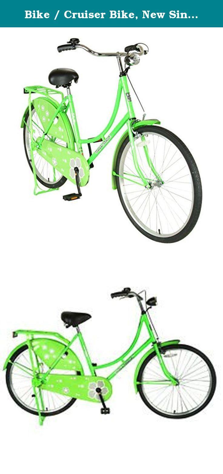 Bike / Cruiser Bike, New Single Speed Oma Female Bicycle in Green ...