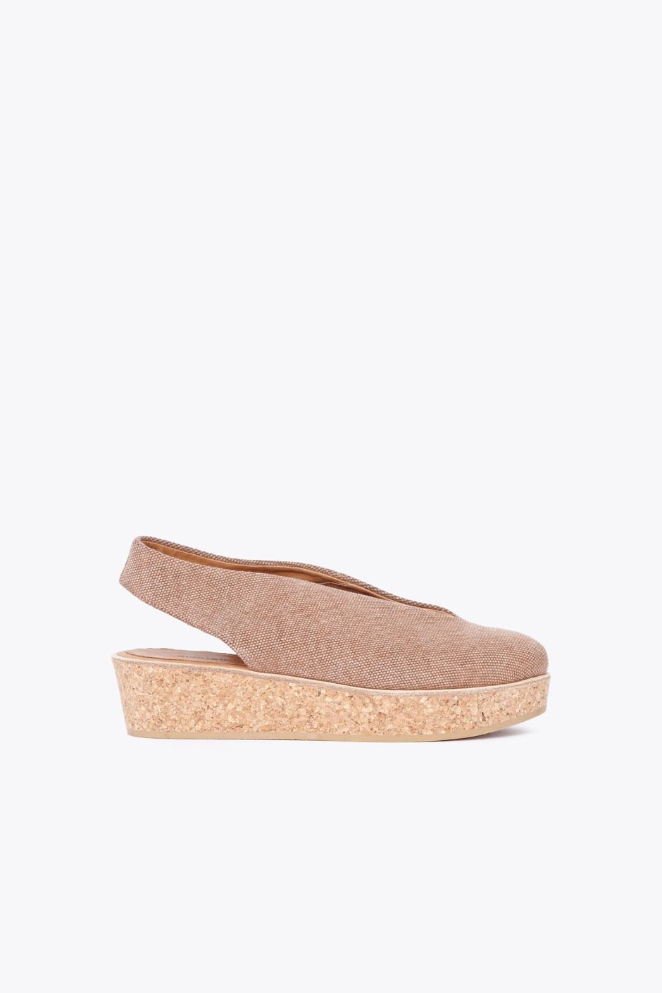 Reality Studio June Wedges (Sand Canvas)