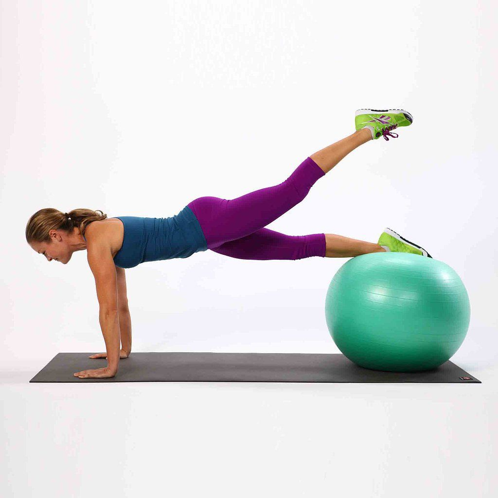Stability Ball Glute: Tone Your Muscles Faster With These Stability-Ball Moves