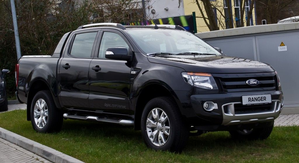 All-New Ford Ranger 2014 Black