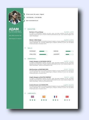 Green Way remarkably smart resume templates Simple to Edit - creative resume templates microsoft word